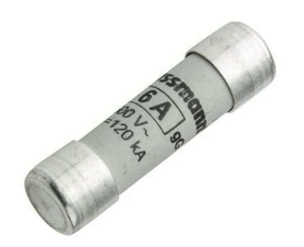 Fuse 6A 10x38mm 500V