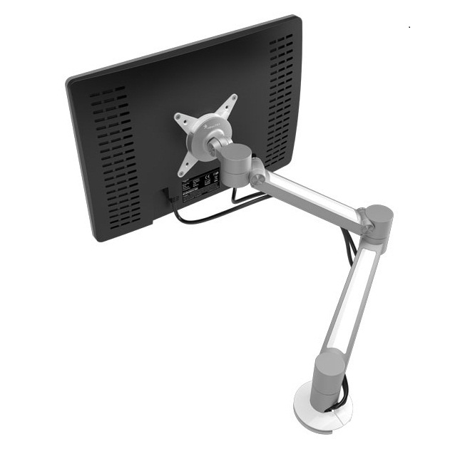 ViewLite Plus Monitor Arm, silver