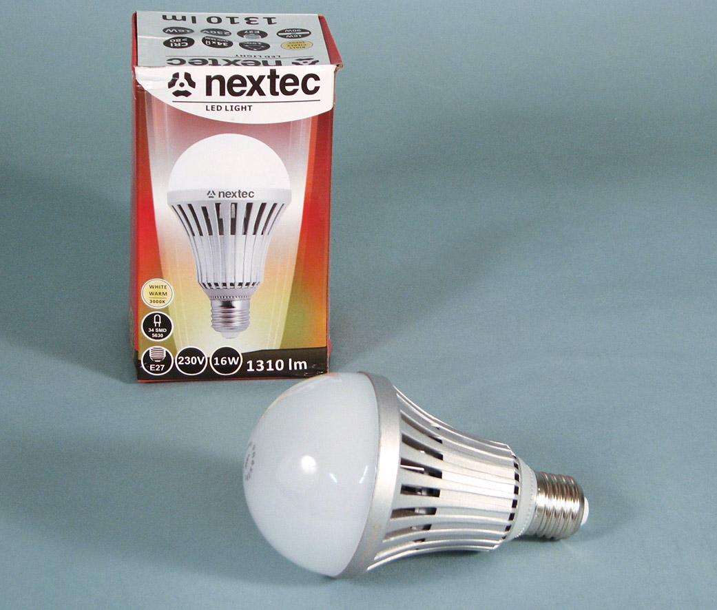 Ledlamp E27 230V 16W 3000K 1310lm