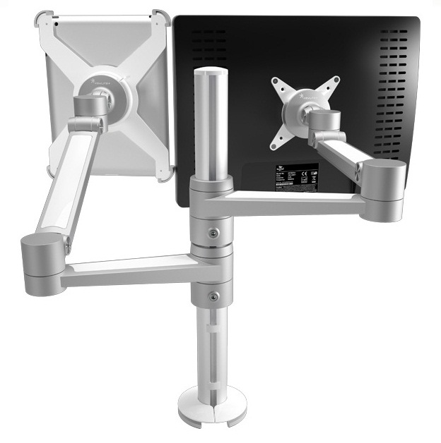iPad holder with table stand
