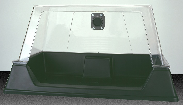 Complete cleancab, open hood (50mm)