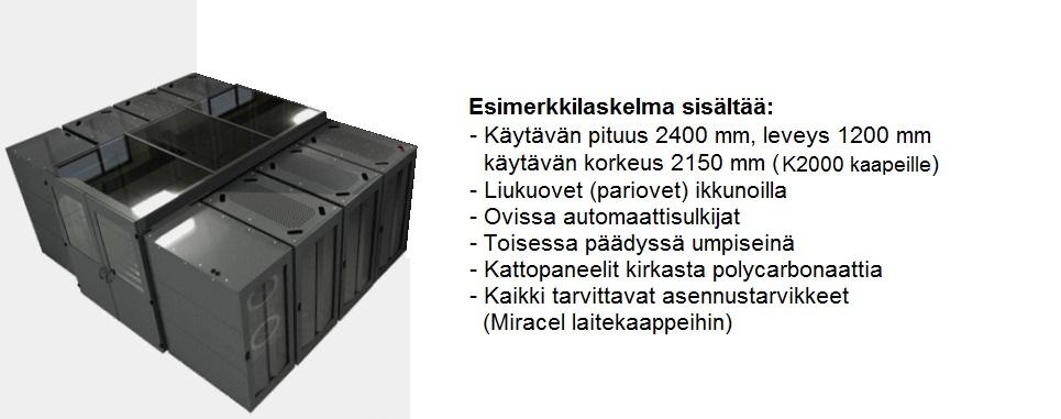 SmartAisle hot/cold 2000x1200x2400