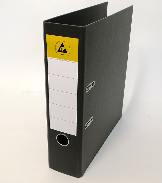 ESD ring binder A4/2 rings/75mm