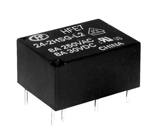 Relay 24V 1HB 250VAC/8A