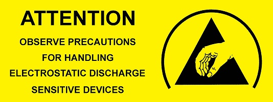 Protection logo label 50x25mm 1000