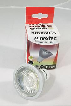 Ledlamp GU10 230V 5W 350lm