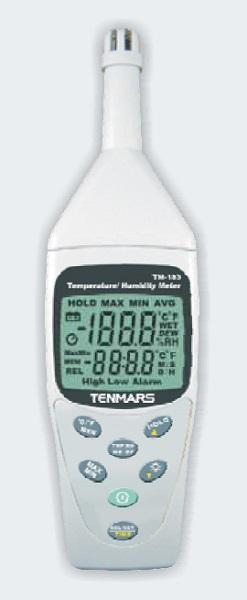 Temp & humidity meter + memory