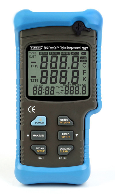 Thermometer + software