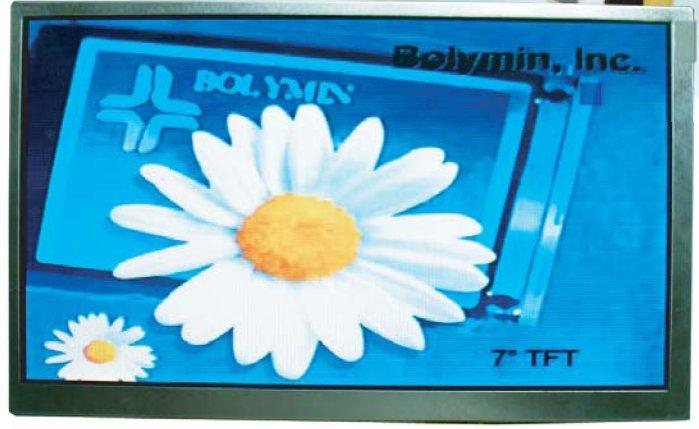 TFT display 7 inches