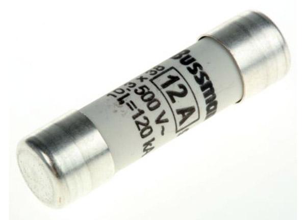 Fuse 12A 10x38mm 500V
