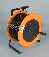 Extension cord 100 m black
