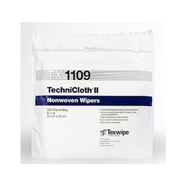 "TechniCloth II 9x9"", 300/bag"
