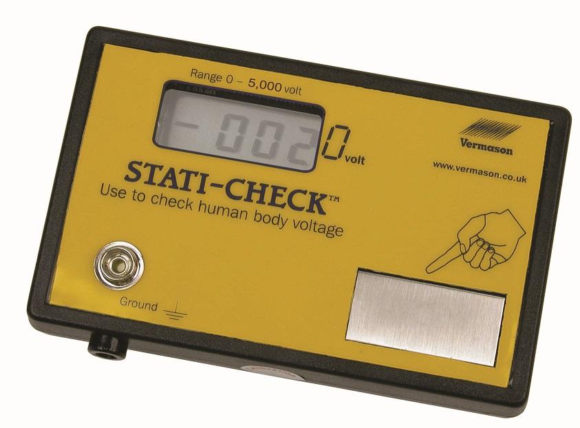 Vermason Stati-Check voltege meter