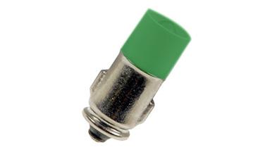 Ba7s 7x20 S. LED green 24-28VDC