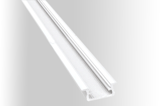 Led profile, aluminium white