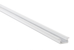 Led profile, aluminium white
