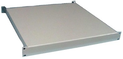 "19""shelf 1Ux600 (mount. 600-760 mm)"