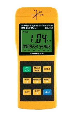 TM-192 3-axis Magnetic Field Meter