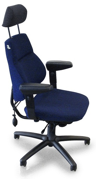 BeGe 814XL 24h  Chair, blue