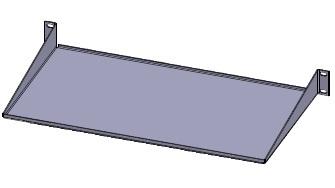"19""shelf 1Ux250 (10 kg)"