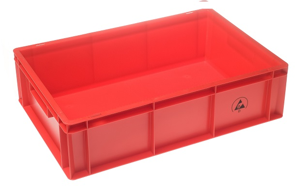 IDP-Stat Tote box 600x400x170 red