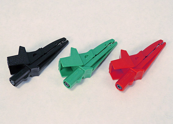 safety insulated alligator clip