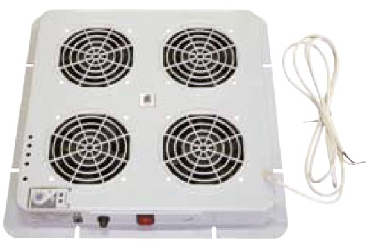 Fan unit, 4 fans + thermostat