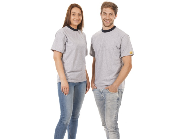 T-shirt, grey, size L