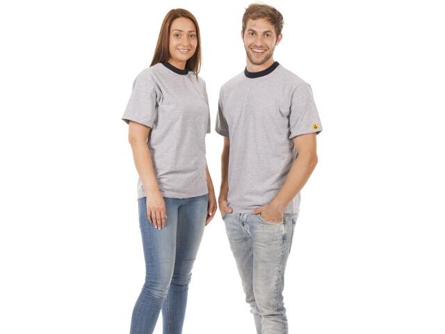 T-shirt, grey, size 2XL