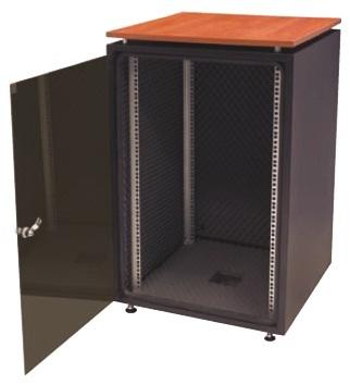 "Silent 19"" Office cabinet 18U D600"