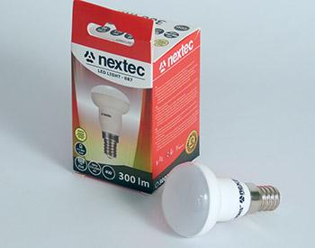 Ledlamp spot E14 230V 4W 300lm
