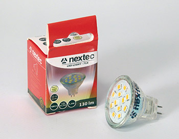 Ledlamp MR11 G5.3 1,8W 130lm