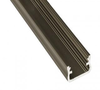 Led profile, aluminium inox