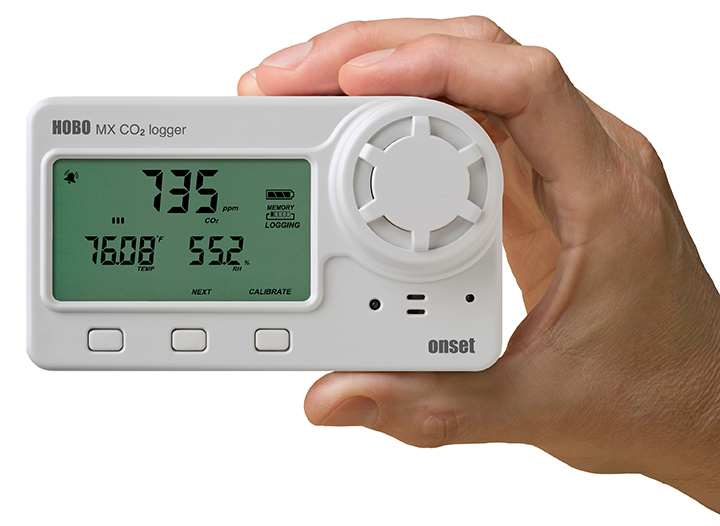 HOBO MX CO2 logger