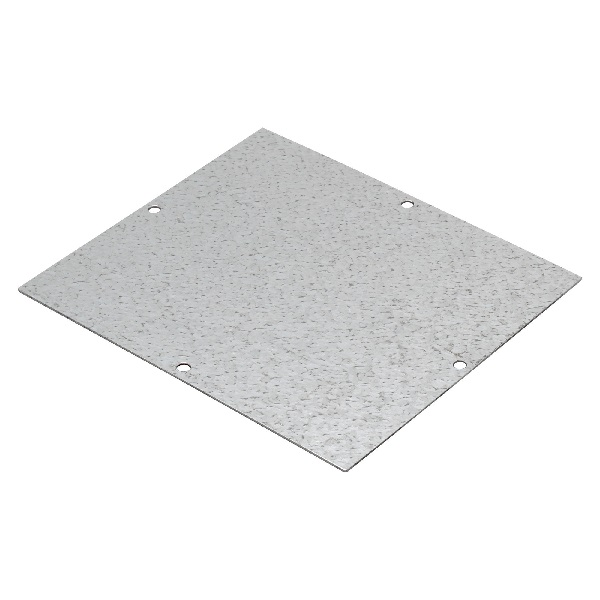 Mounting plate for 128x103 Al-box