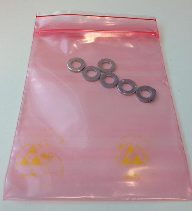 Permastat Zipper bag 200x250mm, 100