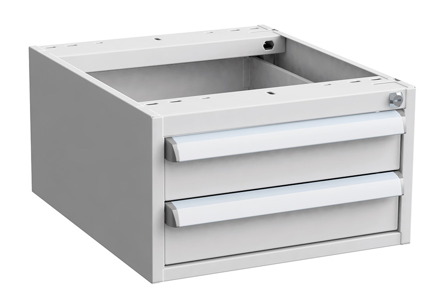 Drawer 45/26,  ESD grey
