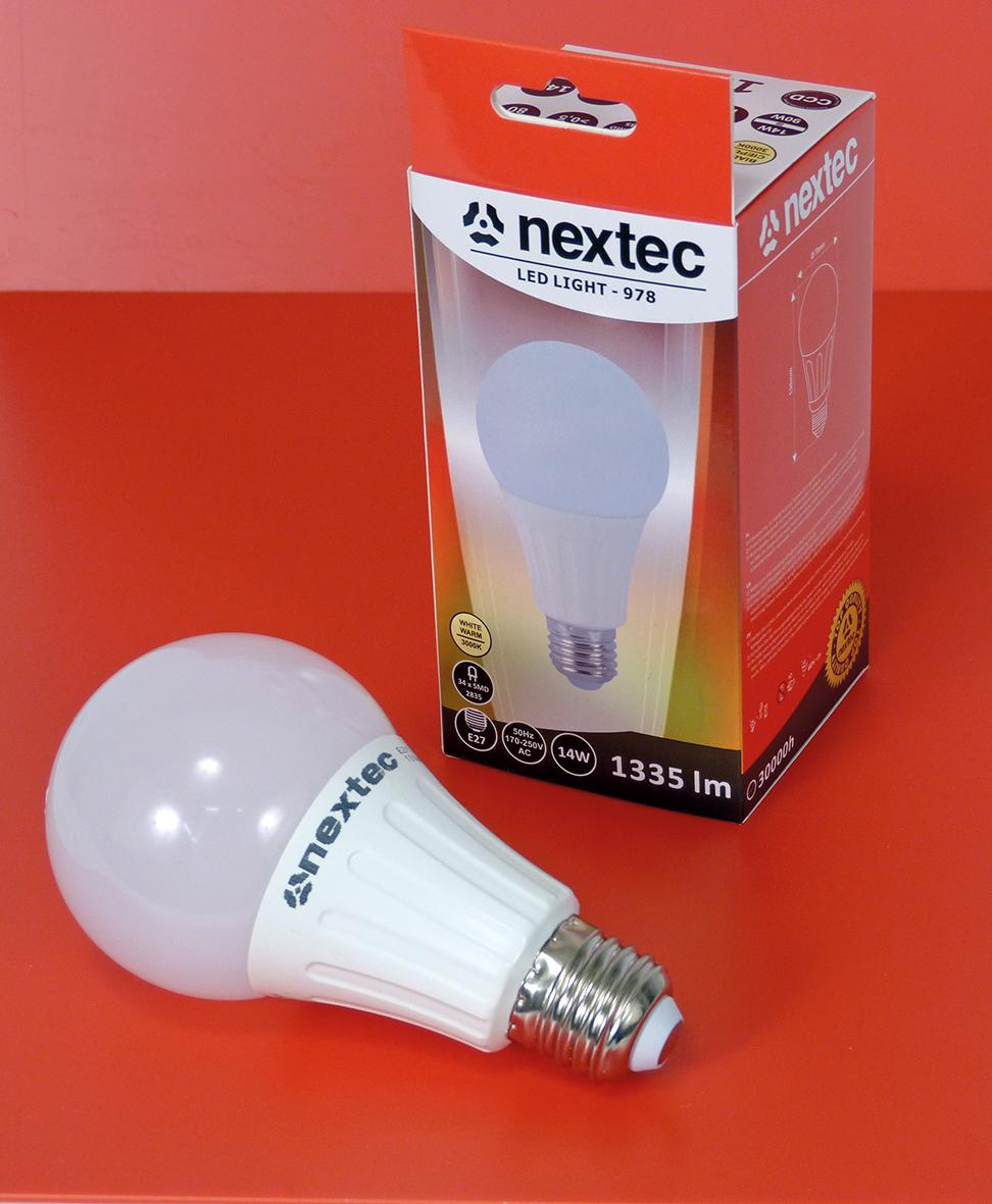 Ledlamp E-27 14W 1335lm 3000K