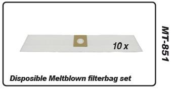 Muntz 888 filterbag set 10 pcs