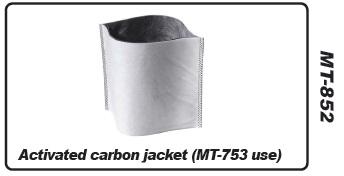 Muntz 888 motorfilter, carbon