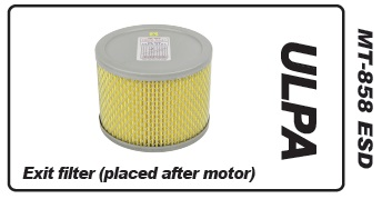 Muntz 888 Air Exit Filter, ULPA
