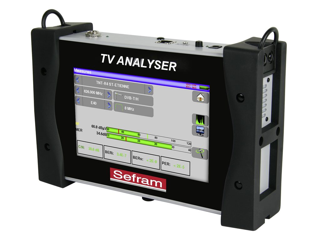 Terrestrial & satellite TV Meter