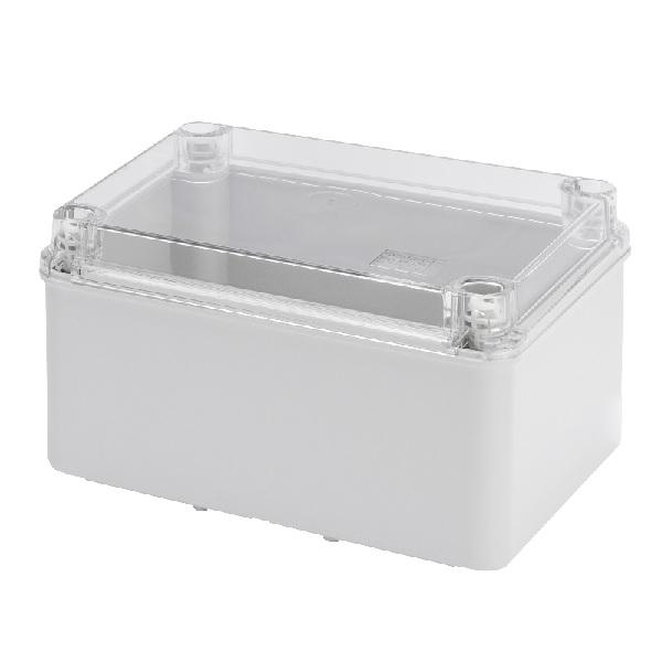 Transparent lid IP56 240x190x130