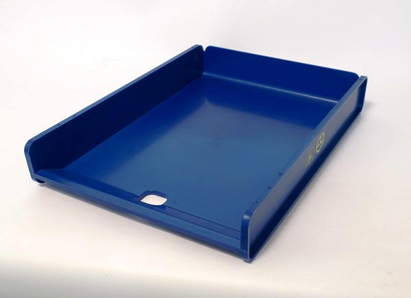 ESD letter tray, A4, blue