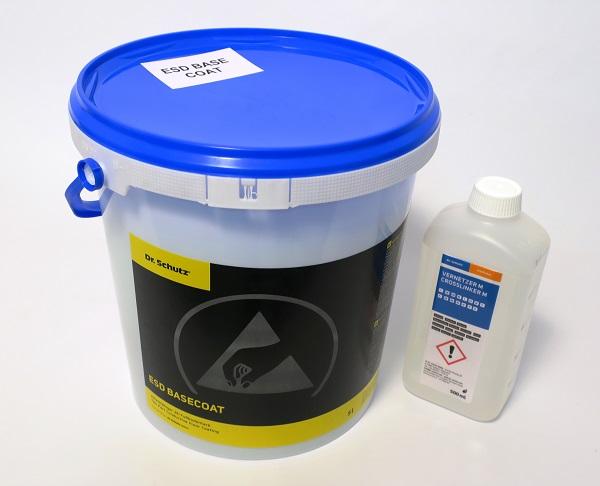 Dr.Schutz ESD Base Coat,transparent