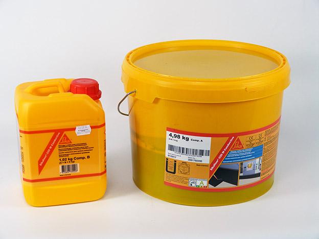 Sikafloor ConductiveA + hardenerB