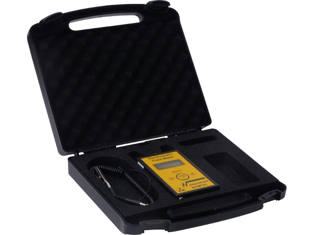 Eletrostatic Field Meter+case