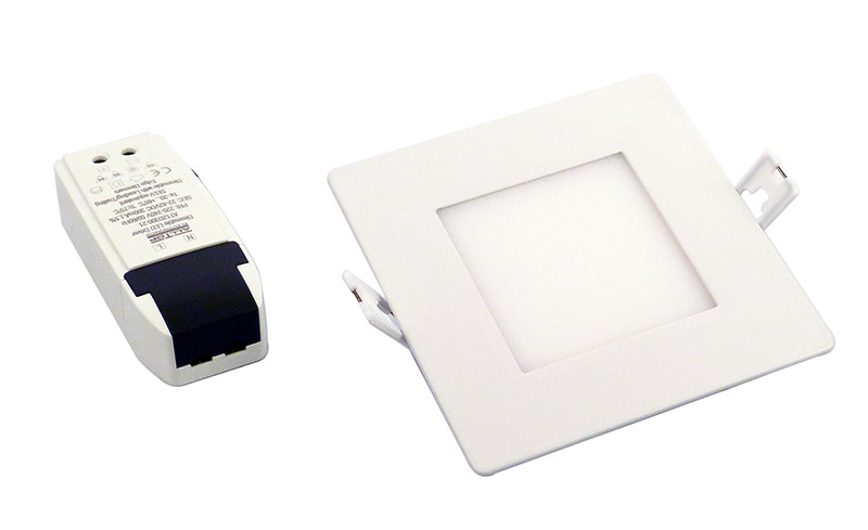Downlight 121 mm 230VDC 8W 3000K