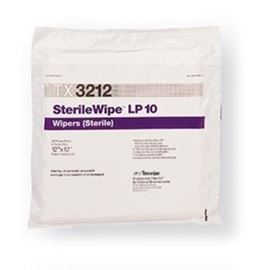 "SterileWipe LP10 12""x12"" 100/bag"