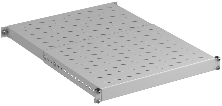 Shelf 1U D350-600 (150 kg), RAL7035